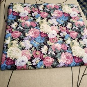 Vintage Floral Cotton Fabric 2.5 yards X 43""